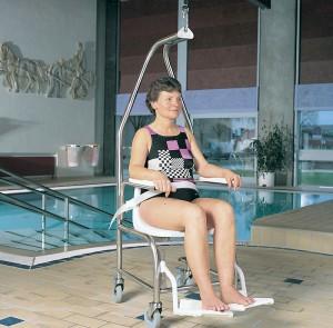 zwembadstoel - takelstoel