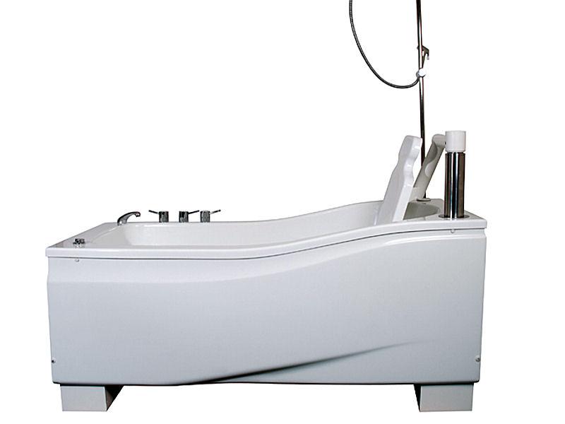 hoog laag bad met badstoel