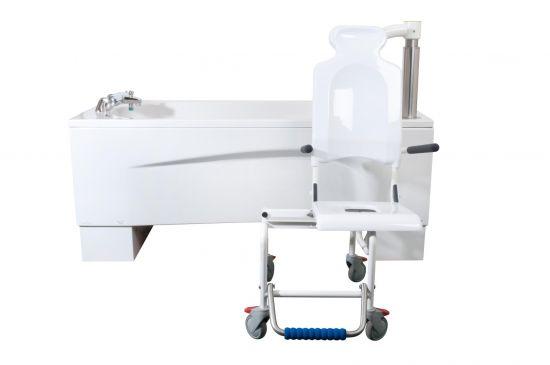 Hoog laag bad met badlift Syncra