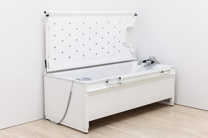 hoog laag bad met stretcher