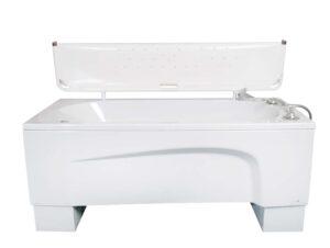 Hoog laag bad kort met vouwstretcher