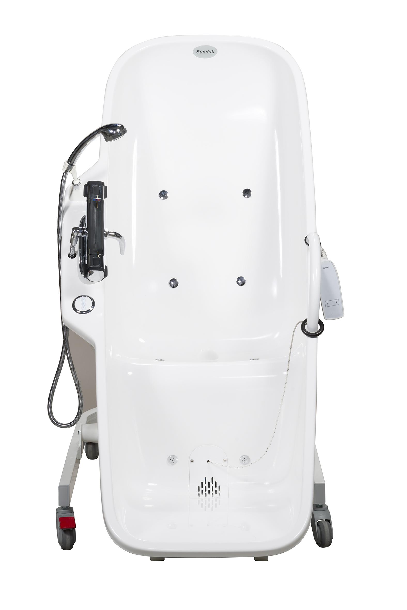Instap zitbad met whirlpool