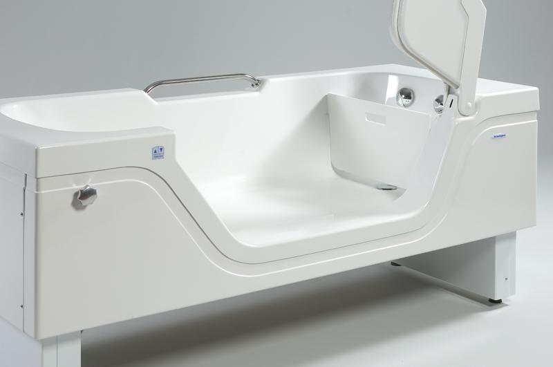 hoog laag bad met lage instap